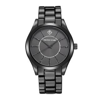 Timothy Stone Women's Charme Faux Ceramic Black Watch
