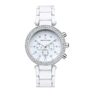 Timothy Stone Women's Desire White Watch