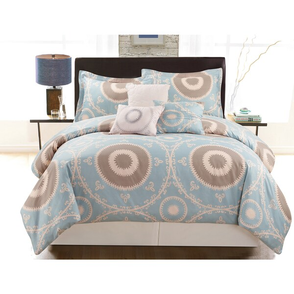 Mika 6-Piece Vibrant Printed Comforter Set