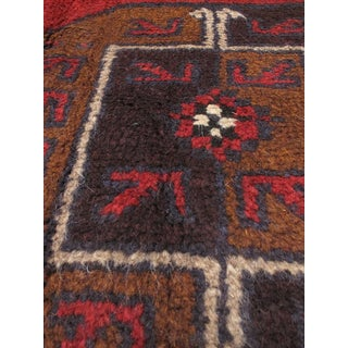 eCarpetGallery Bahor Red Hand-knotted Wool Rug (3'5 x 6'3)
