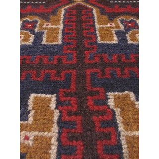 eCarpetGallery Hand-knotted Bahor Red Wool Area Rug (3'3 x 6'7)