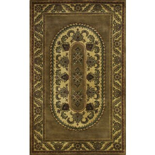 Majestic Wool Hand-tufted Rug (5' x 8')