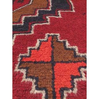 eCarpetGallery Kazak Red Hand-knotted Wool Rug (3'6 x 6'1)