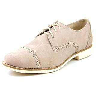 Cole Haan Women's 'Gramercy Wing Ox II' Tan Nubuck Dress Shoes