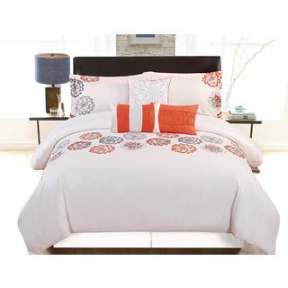 Nadjia by Artistic Linen 6-Piece Vibrant Printed Comforter Set