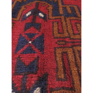 eCarpetGallery Red Wool Hand-knotted Kazak Area Rug (3'7 x 6'4)