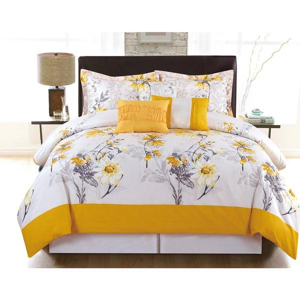 Charlotte 6-Piece Vibrant Printed Comforter Set