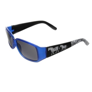 Hot Optix Children's Zoo Collection Plastic Zebra Sunglasses