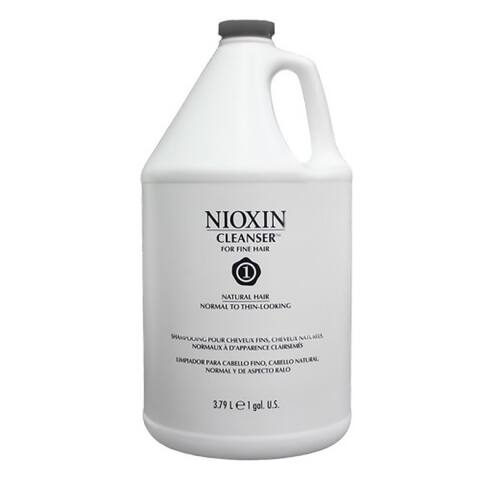 Nioxin System 1 Gallon Cleanser for Normal To Thin-Looking Hair