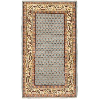 eCarpetGallery Multicolored Wool Hand-Knotted Royal Mahal Rug (3'0 x 5'4)