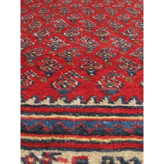 eCarpetGallery Arak Red Wool Hand-knotted Rug (3'5 x 5'3)
