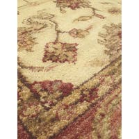 eCarpetGallery Hand-knotted Royal Ushak Brown Wool/Cotton Rug (3'11 x 6'2)