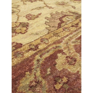eCarpetGallery Royal Ushak Brown/Yellow Wool Hand-Knotted Rug (3'11 x 6'0)