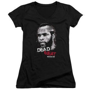 MGM/Rocky Iii/Dead Meat Junior V-Neck in Black