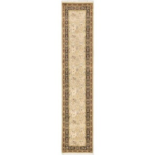 eCarpetGallery Hand-knotted Pako Persian Grey Wool  Rug (2'7 x 12'0)