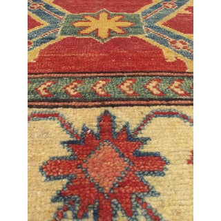 eCarpetGallery Hand-knotted Finest Gazni Red/ Multicolor Wool/ Cotton Rug (3'10 x 5'8)
