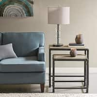 Madison Park Arun Reclaimed Grey Nesting Tables
