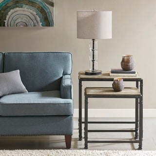 Madison Park Kagen Reclaimed Grey Nesting Tables