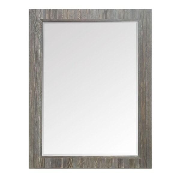 Driftwood Rectangle Mirror