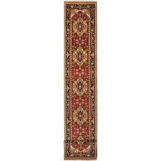 eCarpetGallery Serapi Heritage Orange Wool Hand-knotted Rug (2'7 x 19'7)