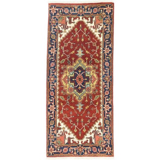 eCarpetGallery Serapi Heritage Orange Wool/Cotton Hand-knotted Runner Rug (2'7 x 5'11)