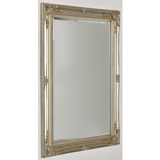 Selections by Chaumont Maissance II Silver Wood-framed Wall Mirror
