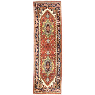 eCarpetGallery Multicolored Wool Hand-knotted Serapi Heritage Rug (2'6 x 8'1)