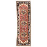 eCarpetGallery Serapi Brown Wool Hand-knotted Heritage Rug (2'7 x 8'1)
