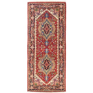 eCarpetGallery Multicolored Wool Hand-knotted Serapi Heritage Rug (2'6 x 5'10)