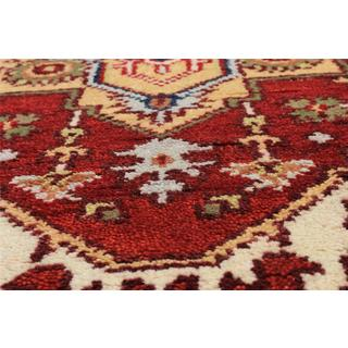 eCarpetGallery Hand-Knotted Serapi Heritage Red Wool Rug (2'6 x 5'10)