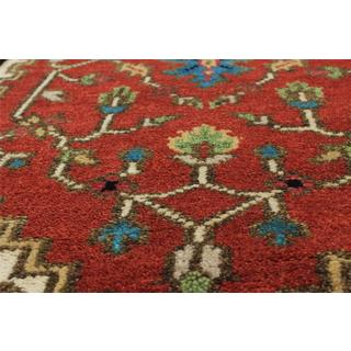 eCarpetGallery Serapi Heritage Brown Hand-knotted Wool/Cotton Rug (2' x 5')