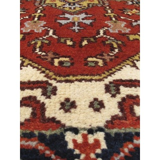 eCarpetGallery Serapi Heritage Brown Hand-knotted Wool/Cotton Rug (2' x 8')