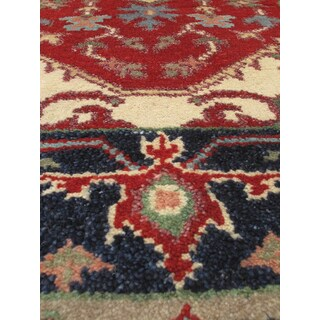 eCarpetGallery Serapi Heritage Red Wool Hand-knotted Rug (2'6 x 12')