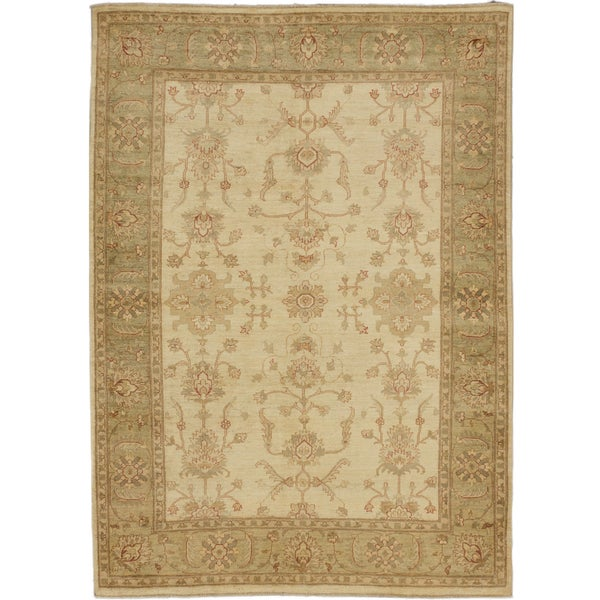 Shop Ecarpetgallery Cream Colored Wool Hand Knotted