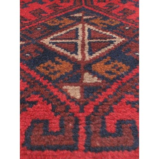 eCarpetGallery Finest Khal Mohammadi Red Wool Hand-knotted Rug (1'8 x 4'8)