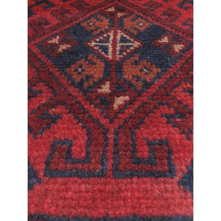 eCarpetGallery Hand-knotted Finest Khal Mohammadi Red Wool Rug (1'9 x 4'9)