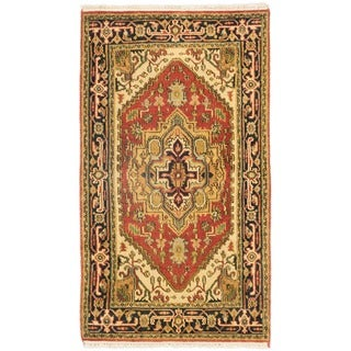 eCarpetGallery Multicolored Wool/Cotton Hand-knotted Serapi Heritage Rug (2'11 x 5'2)