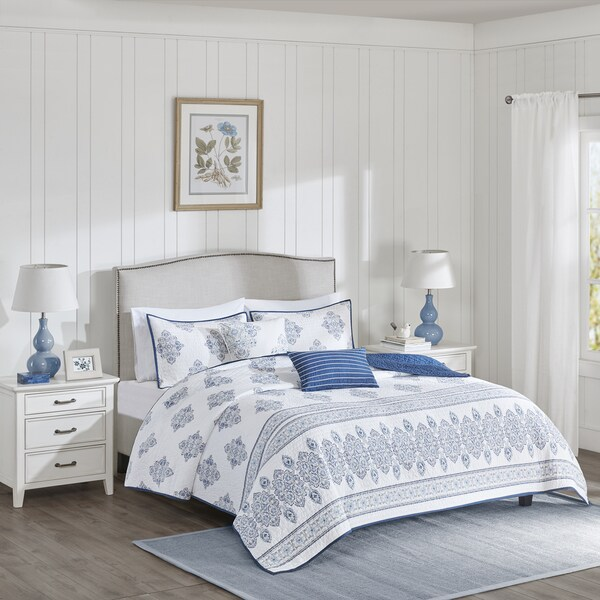 Harbor House Sanibel Multi Cotton Coverlet Set