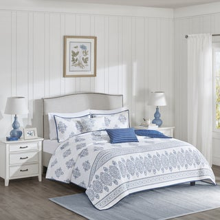 Harbor House Sanibel Multi Cotton Coverlet Set
