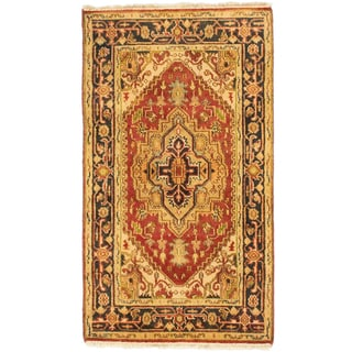 eCarpetGallery Brown Wool Hand-knotted Serapi Heritage Area Rug (2'11 x 5'1)