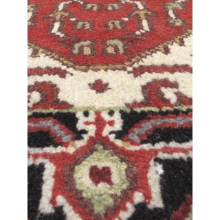 eCarpetGallery Black/Brown Wool Hand-knotted Serapi Heritage Area Rug (2'6 x 11'9)