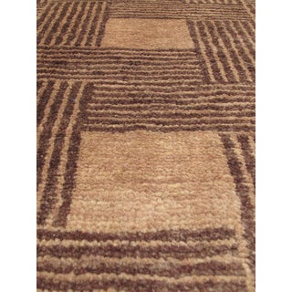eCarpetGallery Ziegler Chobi Brown Ivory Wool Hand-knotted Rug (5'11 x 7'8)