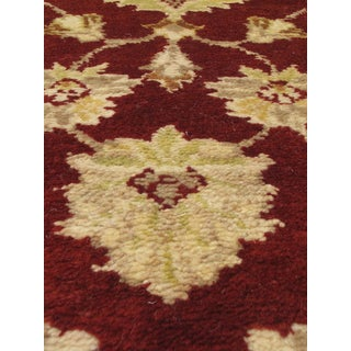 eCarpetGallery Royal Ushak Red Wool and Cotton Hand-knotted Oriental Area Rug (4'10 x 8'1)
