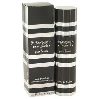Yves Saint Laurent Rive Gauche Pour Homme Men's 2.5-ounce Eau de Toilette Spray