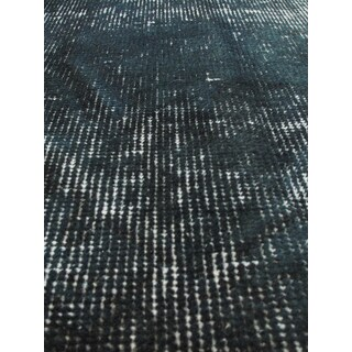 eCarpetGallery Green Wool Overdyed Hand-knotted Anatolian Rug (3'10 x 6'5)
