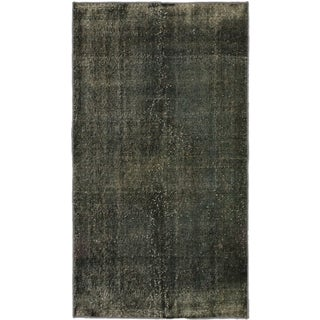 eCarpetGallery Anatolian Overdyed Green Wool/Cotton Hand-knotted Rug (3'11 x 7'0)