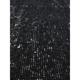 eCarpetGallery Anatolian Overdyed Black Wool/Cotton Hand-knotted Rug (3'9 x 6'7)