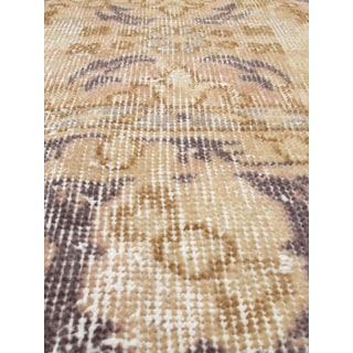 eCarpetGallery Hand-knotted Anatolian Sunwash Ivory/Cream/Grey/Brown Wool Rug (3'7 x 7')