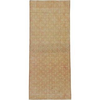 eCarpetGallery Hand-knotted Anatolian Sunwash Ivory-colored Wool/Cotton Runner Rug (3'3 x 7'10)