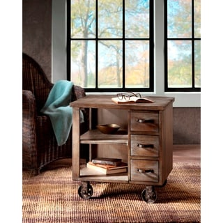 Madison Park Kagen Grey End Table